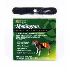 Жилет для охотничьих собак Remington Safety Vest, оранжевый, маленький фото
