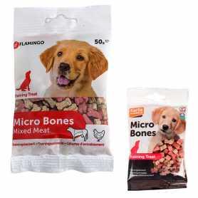 Лакомство для обучения собак Micro Bones Training Treat Karlie Flamingo, косточка, 50г фото