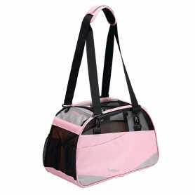 Сумка переноска для собак и кошек Voyager Comfort Carrier Bergan, розовый, размер L, 48х33х25см  фото