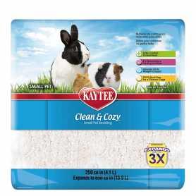 Подстилка для грызунов Clean&Cozy White, целлюлоза, белая, 4,1л фото