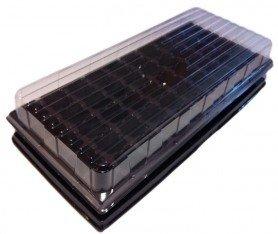 Парничок для рассады ВЛ, 50 яч, касс. 440х205х80 мм, яч. 32х32х53 мм, т.с. 0,9 мм, пластиковый фото
