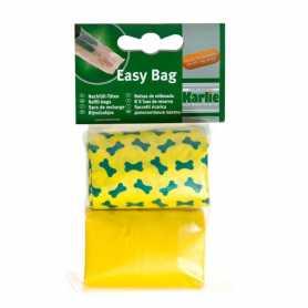 Пакеты для сбора фекалий собак Swifty Waste Bags Karlie Flamingo, цветные, 2 рул. по 20 пакетов фото