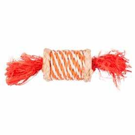 Игрушка для грызунов конфета из соломы Role N Rustle Karlie Flamingo, 17см фото
