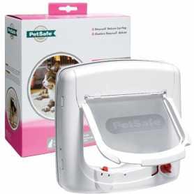 Дверцы для котов  до 7 кг PetSafe Staywell, с программным ключом, белые фото
