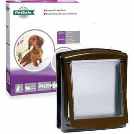 Дверцы для котов и собак маленьких пород до 7 кг PetSafe Staywell Original, коричневые, 23,6х19,8см фото