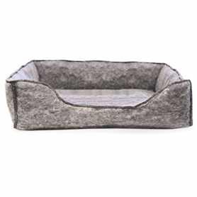 Лежак для котов K&H Amazin` Kitty Lounge, серый, 33,02x43,18см фото