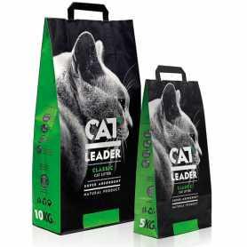 Супер-впитывающий наполнитель в кошачий туалет Cat Leader, 5кг фото