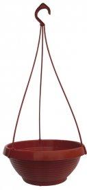 Кашпо Лотос, D 240мм, 2.6л, 240х140х100, терракот фото