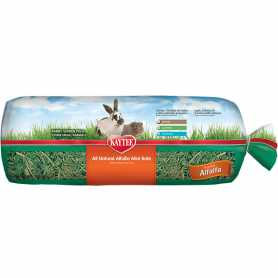 Корм для грызунов Kaytee Alfalfa Hay, до 1 года, беременных, кормящих, люцерна, сено, 680г фото