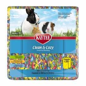 Подстилка для грызунов Kaytee Clean&Cozy BirthdayCake, целлюлоза, разноцветная, 4,1л фото