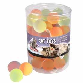 Игрушка для кошек мяч попрыгун латекс Flamingo Bounce Ball, 3,5см фото