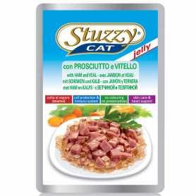 Корм для кошек Stuzzy Cat Ham Veal, ветчина, телятина в желе, пауч, 100г фото