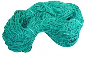 Агро-трубка для подвязки (Кембрик) эластичная , D 2мм., 400 м. фото