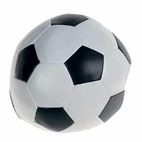 Игрушка для собак Karlie Flamingo Soccerball Blackwhite, мяч, черно-белый, искусственная кожа, 15см фото