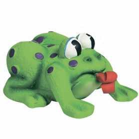 Игрушка для собак и щенков Karlie Flamingo Frog Pop-Up Tongue, лягушка с языком, латекс, 11х10х6,5см фото
