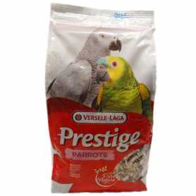 Корм для крупных попугаев Versele-Laga Prestige Parrots, зерновая смесь, 1кг фото