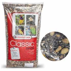 Корм для крупных попугаев Versele-Laga Classic Parrots, смесь зерен, семян и орехов, 12,5кг фото