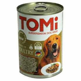 Консервы для собак TOMi 3 kinds of poultry, супер премиум корм, 3 вида птицы, 400г фото
