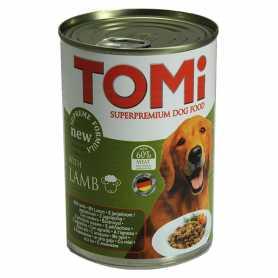 Консервы для собак TOMi lamb, супер премиум корм, ягненок, 400г фото