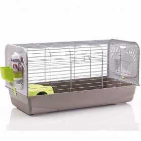 Клетка для кроликов серый Savic Ceasar 3 100Х50Х51см фото