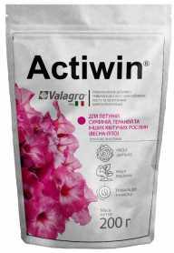 Комплексное минеральное удобрение Actiwin для петуний,сурфиний,гераней 200г, NPK 9.16.14, Весна-Лето, (Valagro) (Валагро) фото