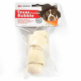 Жевательное лакомство для собак Karlie Flamingo Texas Bubble Bone Premium, премиум, кость узлы, 10-12см фото