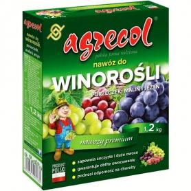 Комплексное минеральное удобрение для винограда малины и смородины, 1.2кг, NPK 8.7.22, Agrecol (Агрекол) фото