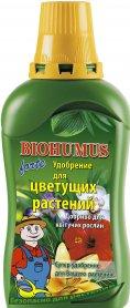 Комплексное минеральное удобрение для цветущих растений BIOHUMUS, 350мл, NPK 0,5.0,2.0,7, Agrecol (Агрекол) фото