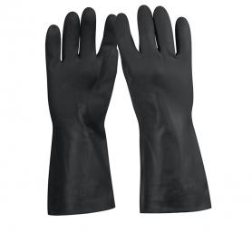 Перчатки для обработки химических веществ, резиновые, большие, GU-QUIM-G фото