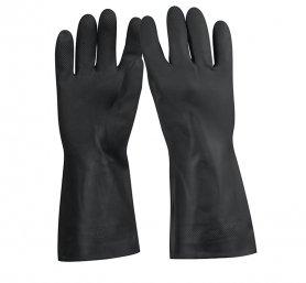 Перчатки для обработки химических веществ, резиновые, средние , GU-QUIM-M фото