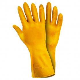 Перчатки ТМ Sigma латекс М 1/12, 9447311-0623 фото