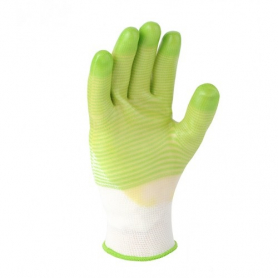 Перчатки нейлон+ПВХ (полного облил), 4552 фото