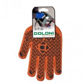 Перчатки трикотажные c ПВХ (с 2-х сторон), Doloni, 4470 фото