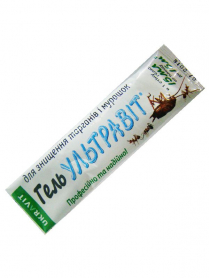 Ультравит гель против тараканов и муравьев, 15мл фото