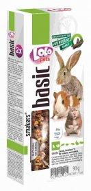 LO-71109'Lolopets' Smakers® с плодами рожкового дерева для грызунов и кролика 90гр., 10шт/уп. фото