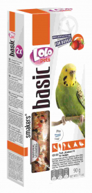 LO-72108'Lolopets'Smakers с фруктами для волнистых попугаев 90г.10шт/уп фото