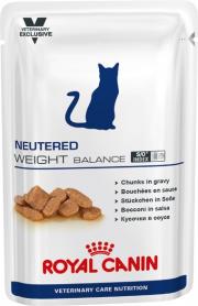Лечебные Консервы для кошек Вейт Баланс 100 г фото