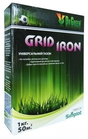 Газонная трава универсальная Grid Iron, 1кг, TM Dr. Green фото