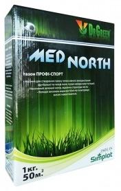 Газонная трава спортивная Med North, 1кг, ТМ Dr. Green, Simplot (Канада) фото
