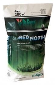 Газонная трава спортивная Med North, 4кг, ТМ Dr. Green, Simplot (Канада) фото