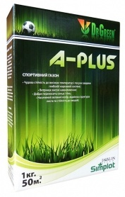 Газонная трава спортивная A-Plus, 1кг, TM Dr. Green, Simplot (Канада) фото