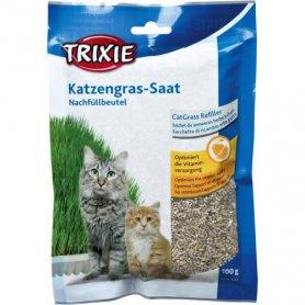 Трава д/кошек 100г пакет фото