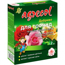 Комплексное минеральное удобрение для роз Agrecol (Агрекол), 1.2кг, NPK 16.14.16 фото