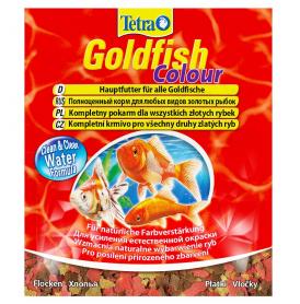 Tetra Gold Fish Colour корм для всех видов золотых рыб для окраса 12 г, 183704 фото