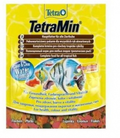 Tetra MIN  12г  хлопья основной корм фото