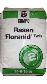 Комплексное минеральное удобрение для газона Floranid Turf, Весна, 25кг, NPK 20.5.8+ME, 2-3м, Compo (Компо) фото