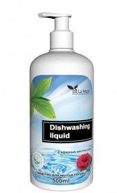 Средство для мытья посуды Delamark с эфирным маслом розы, 0.5л фото