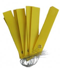 Этикетки на проволоке цветные, 1.8х10см, 10шт фото