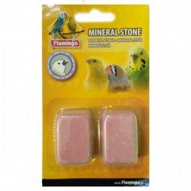 100250 Karlie Flamingo PICKSTONE минеральный камень для птиц, розовый 4*3*2 см фото