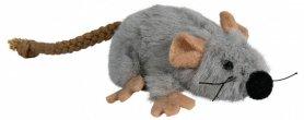 45735 Мышка плюшевая с кот мятой 7 см фото